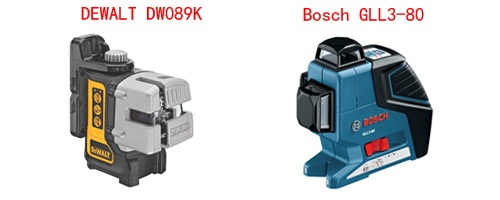 DeWalt DW089K Vs Bosch GLL3-80