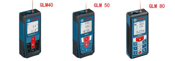 Bosch GLM 40 vs GLM 50 vs GLM 80